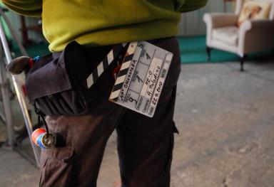 Focení při natáčení